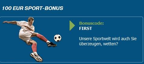 Der bet-at-home.com-Bonus erhöht die Einzahlung um 50 Prozent (Quelle: bet-at-home.com)