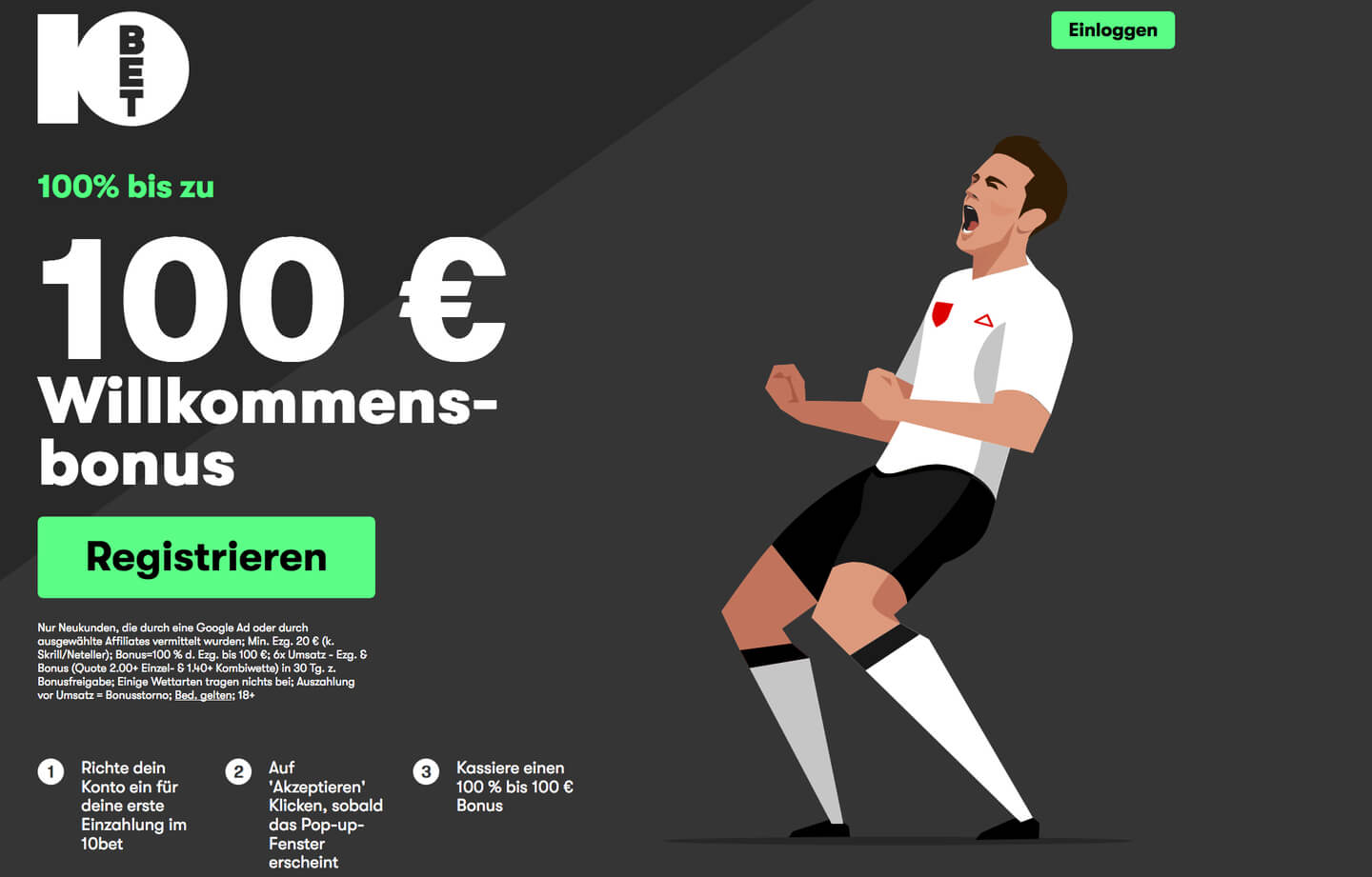 10bet bonus screenshot