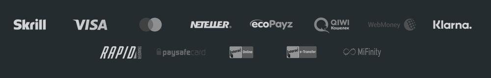 Zahlungsmethoden von 1Bet