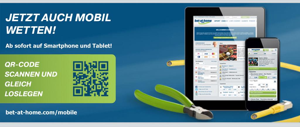 Die mobile App von bet-at-home.com (Quelle: bet-at-home.com)