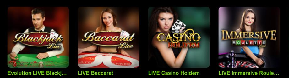 Auch ein Mobilbet Live-Casino ist verfügbar (Quelle: Mobilbet)