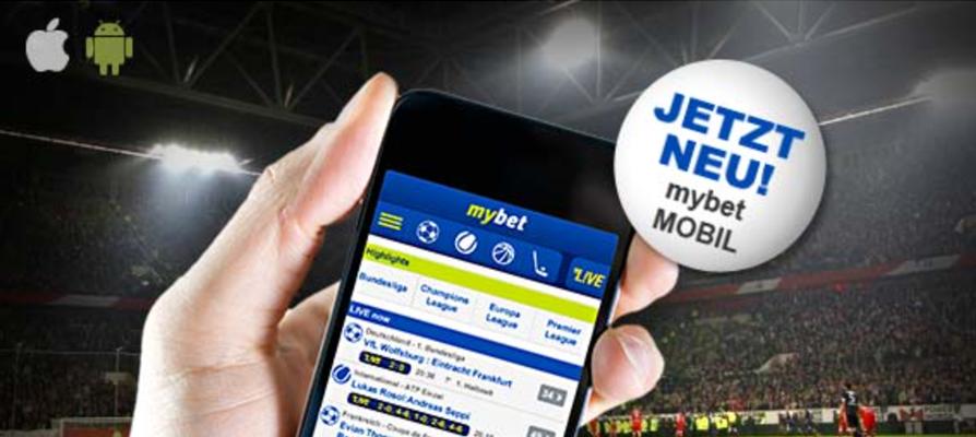 Mobile App bei mybet (Quelle: mybet)