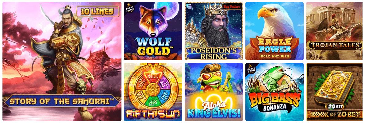 Casinoangebot von 20bet