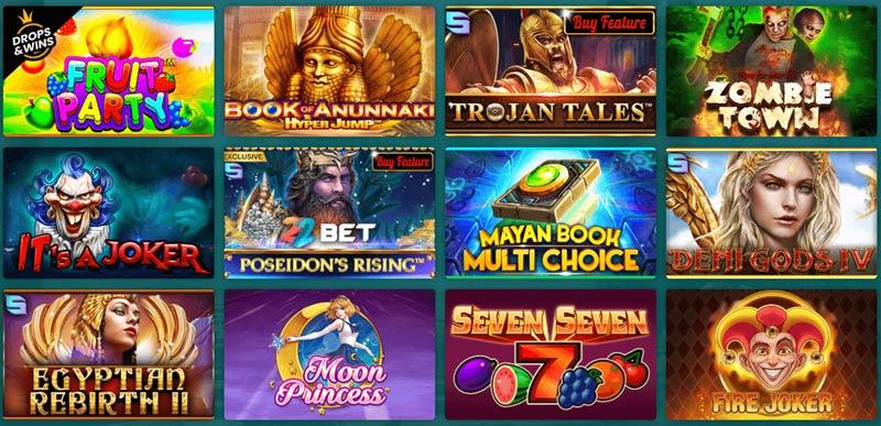 Casinoangebot von 22bet