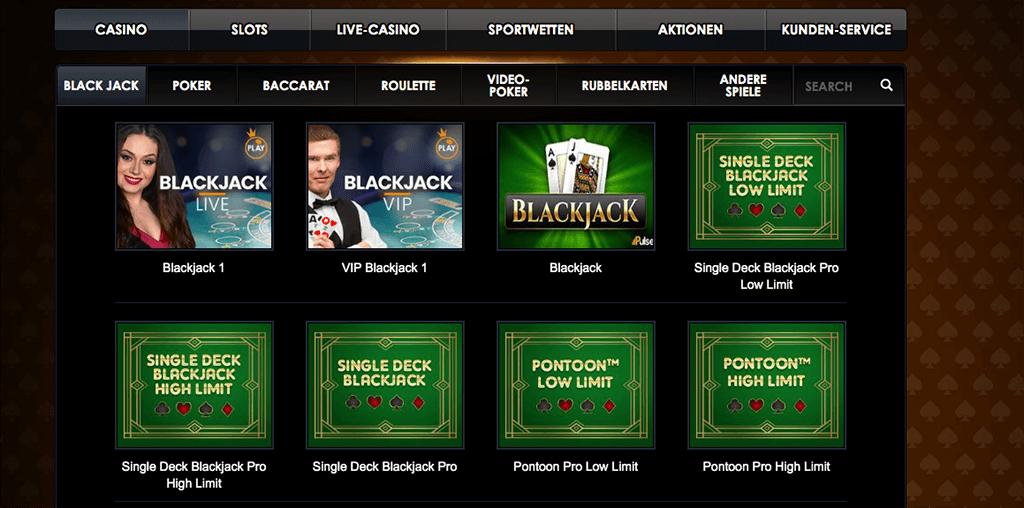 Casino Sieger Sportwetten Erfahrungsbericht – Casinoangebot