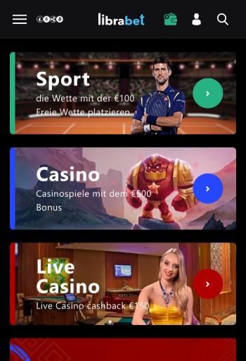 Librabet Sportwetten Erfahrungen – Mobile App