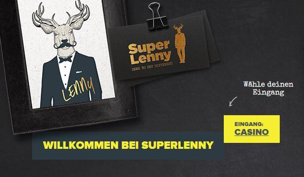 Hier ist der Eingang zu SuperLenny (Quelle: SuperLenny)