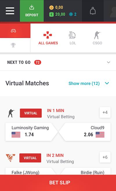 Unikrn Sportwetten Erfahrungen – Mobile App
