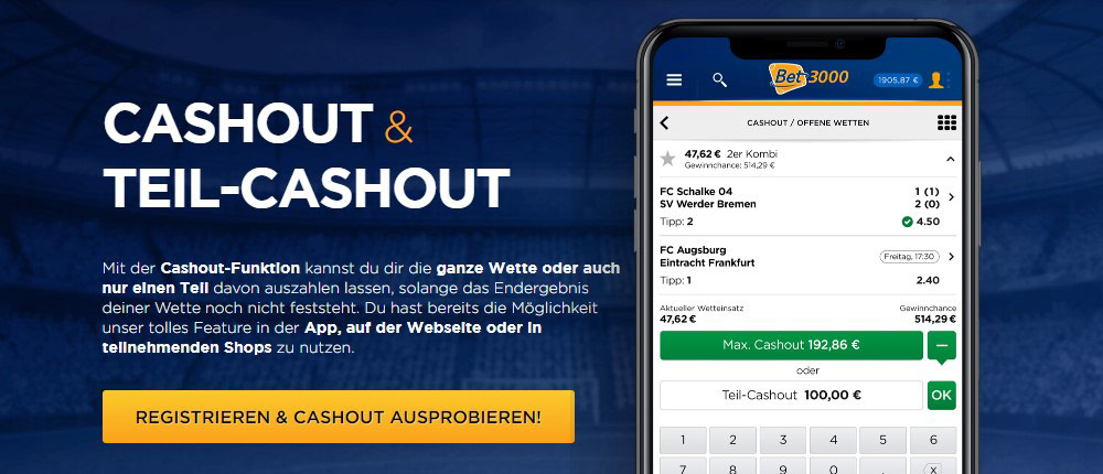 Teil-Cashout b3ibet3000