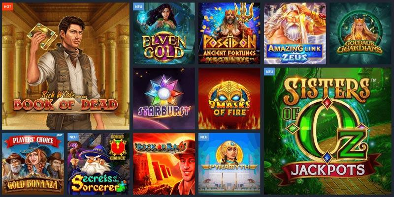 Casinoangebot von Robet247