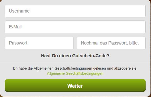Auch über die ComeOn App können sich neue User anmelden (Quelle: ComeOn)
