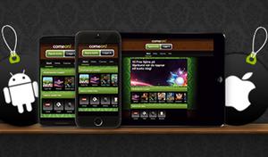 Mobile App bei ComeOn (Quelle: ComeOn)