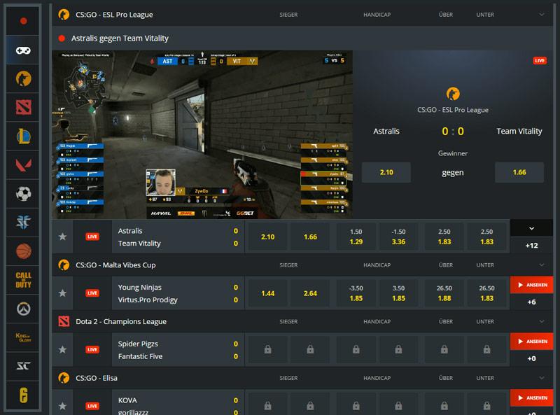 eSports von Robet247