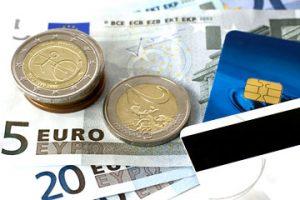 euro-geld-kreditkarte
