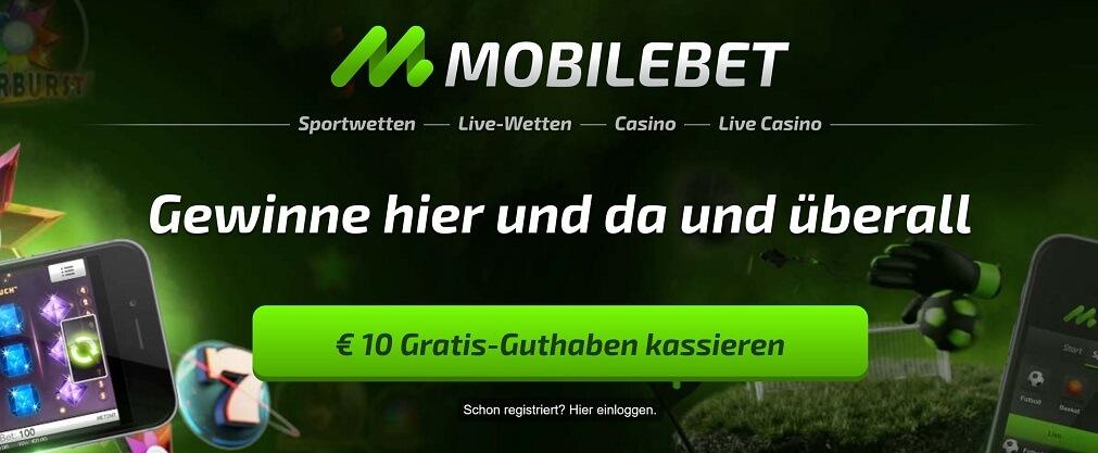 Mobilebet Bonus Gratis