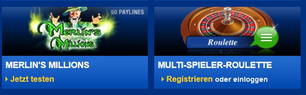 Das mybet Casino kann noch nicht über die App mobil genutzt werden (Quelle: mybet)
