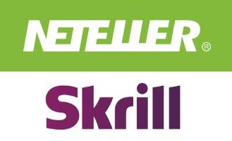 Logos von NETELLER und Skrill