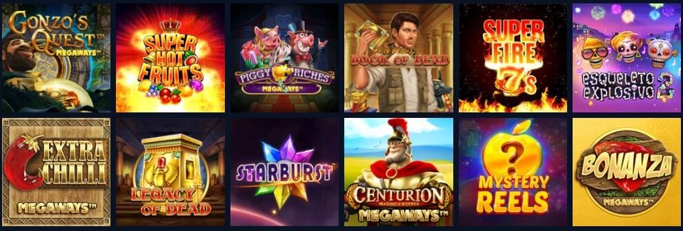 Casinoangebot von Novibet