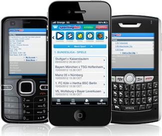 Mobile App bei Sportingbet (Quelle: Sportingbet)