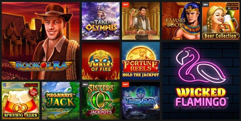 Casinoangebot von Select.bet