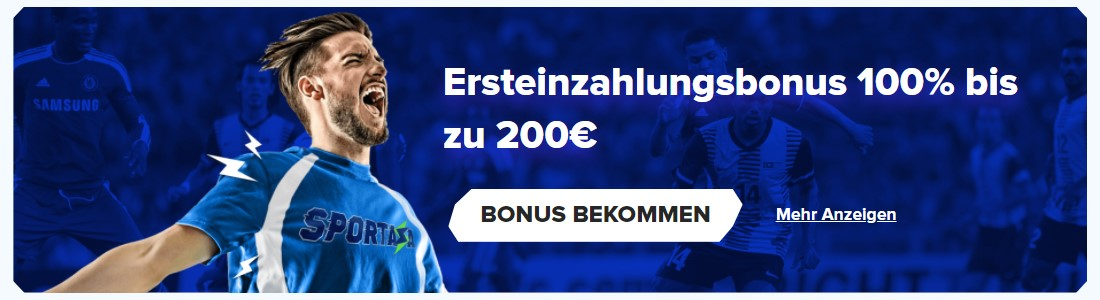 Bonusangebot von Sportaza