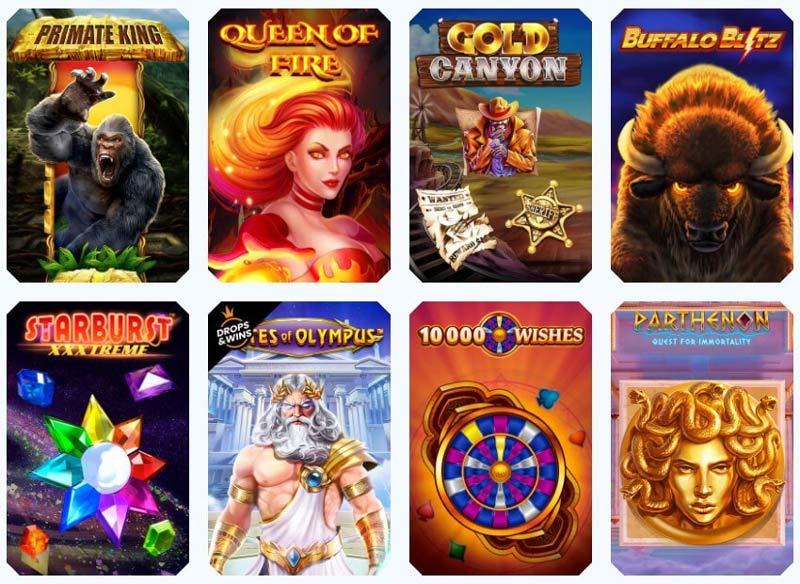 Casinoangebot von Sportaza