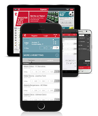 Mobile App bei Tipico (Quelle: Tipico)