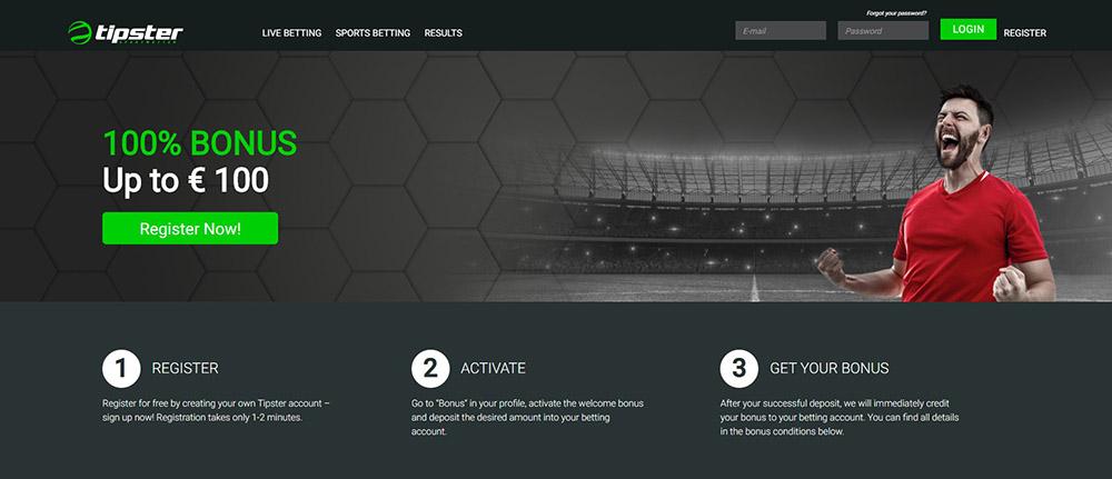 Tipster Sportwetten Erfahrungen – Willkommensbonus