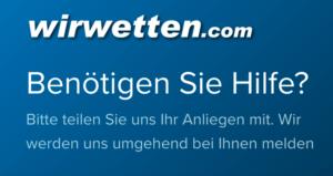 WirWetten Kundenservice