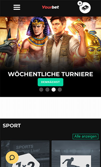 Yourbet Sportwetten Erfahrungen – Mobile App